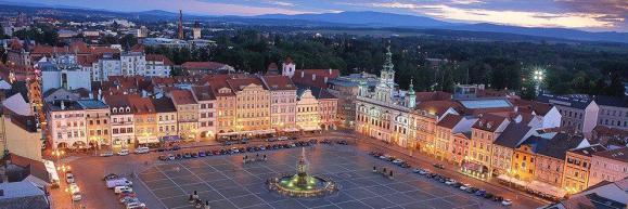 Marktplatz von České Budějovice  Quelle: http://www.cztip.eu/wp-content/uploads/2014/10/007_Web_nahledy.jpg