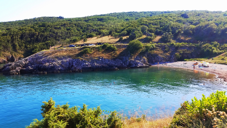 Schöne Bucht zwischen Risika und Vrbnik