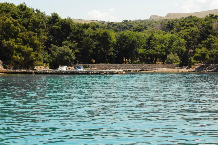 Südöstliche Insel (Otok) Sveti Grgur