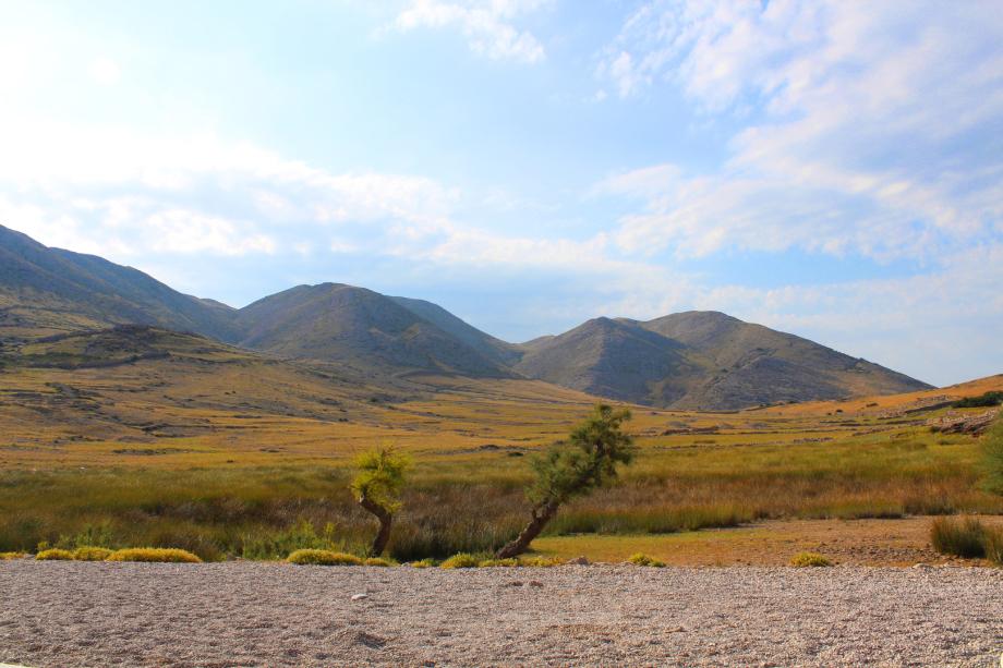 Vela Luka - Blick vom Wasser aus ins Tal