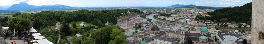 Aussicht von Festung Hohenzollern