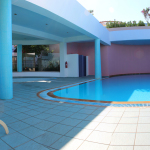 Atrium Prestige - Pool mit offenem Dach