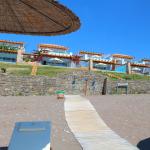 Atrium Prestige - Blick vom Strand auf die vorderen Hotel Villen