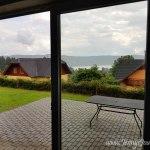 Ferienhaus mit Blick auf den Stausee