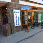 Intersport an der Talstation Lipno