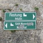 Schild - Stift Nonnberg