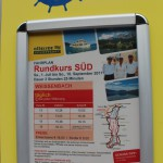 Attersee-Schifffahrt - Aushang